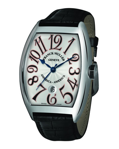 Men's Limited Edition USA Curvex Watch with Alligator Strap