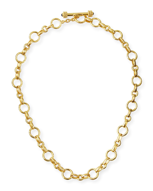 Siena Gold 19k Link Necklace