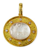 Crystal Goddess Chariot Pendant