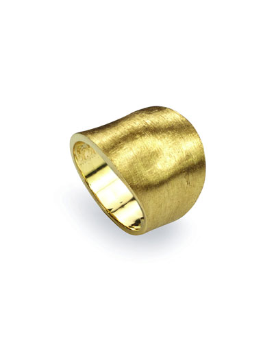 Lunaria 18k Gold Medium Ring