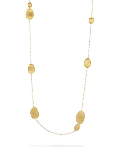 Lunaria 18k Gold Long Necklace