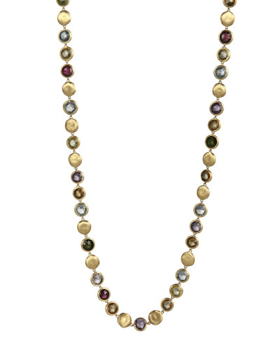 Jaipur Mixed-Stone Link Necklace, 30