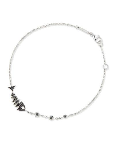 Jewels Verne Black Diamond Bracelet