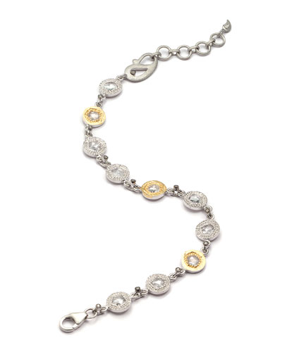 Opera Crystal & Diamond Bracelet