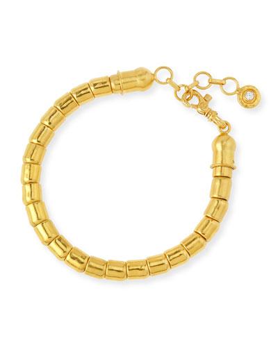 Quick Look Gurhan Vertigo 24k Gold Single Strand Bracelet