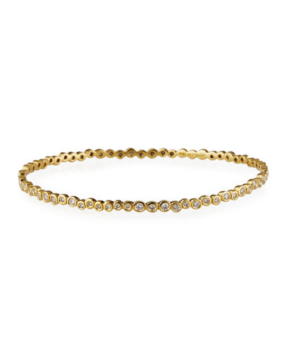 Starlet 18k Gold Diamond Bangle
