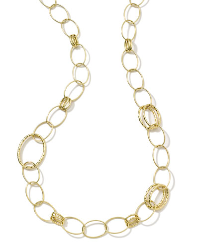 Glamazon 18k Gold Bastille Long Necklace