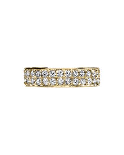 18k Gold Diamond Single Ear Cuff