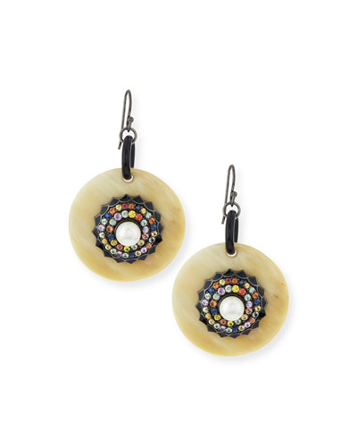Garden of Spring and Summer Sapphire Earrings