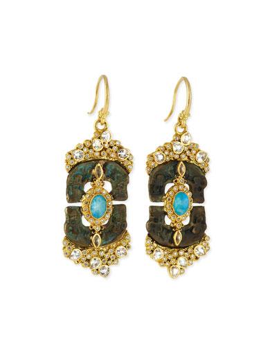 Sueno Linked Artifact Drop Earrings