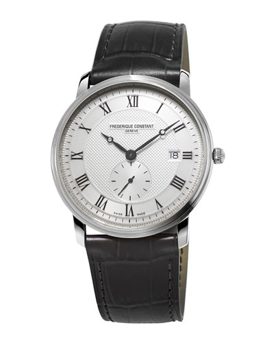 Gents Classics Slimline Stainless Watch