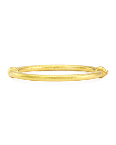 19k Gold Wire Bangle Bracelet