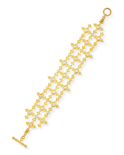 Aegean Collection 18k Diamond Bracelet