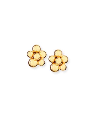 Atomo Mini 18k Gold Earrings