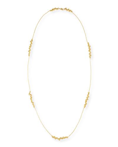 Atomo Mini 18k Gold Long Necklace
