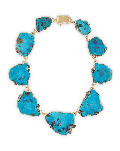 Gold Turquoise Necklace Neiman Marcus