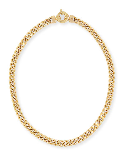 New Essentials 18k Gold Link Necklace
