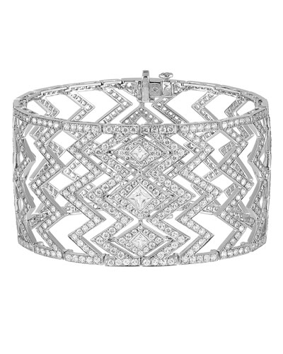 Lady Stardust White Gold Diamond Bracelet