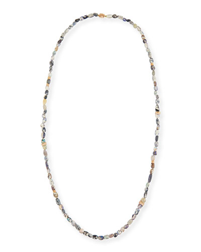Wonderland Opal Necklace with Diamonds