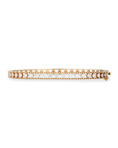 Allegra 18k Rose Gold Diamond Bracelet