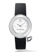 White Gold Charms Watch with Diamonds, 32mm