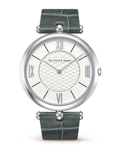 Pierre Arpels White Gold Watch, 42mm
