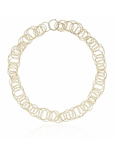 Buccellati 18k Yellow Gold & Black Onyx Short Hawaii Necklace I3X8e3SrdJ