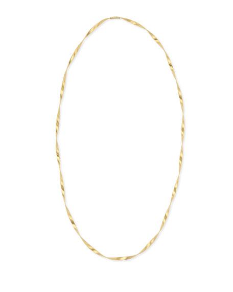 "Marco Bicego Marrakech 18k Gold Single Strand Necklace, 36""L"