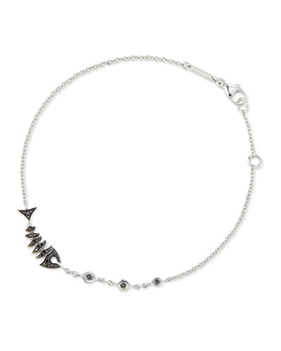 Jewels Verne Topkat Black Diamond Bracelet