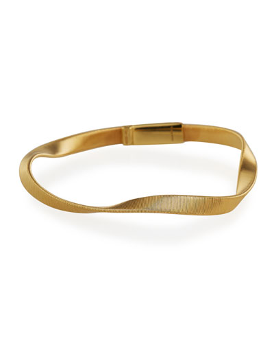 Marrakech Supreme 18k Twisted Bracelet, Yellow Gold