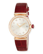 33mm LVCEA 18K Pink Gold Watch