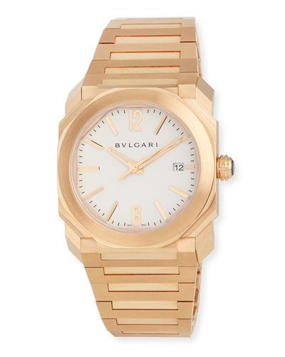 38mm Octo Solotempo Pink Gold Watch