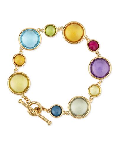 Mischief 18K Gold Multi-Stone Bracelet