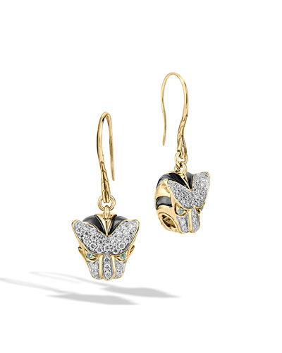 Classic Chain Macan Drop Earrings