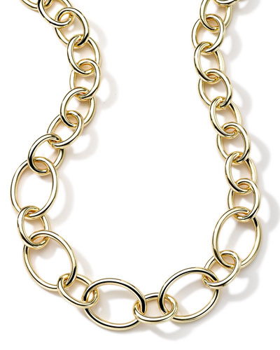 18K Glamazon Multi-Oval Shape Necklace, 18