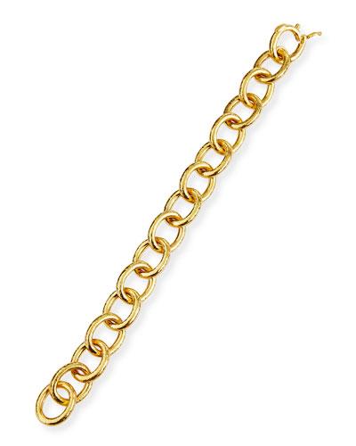 Volterra 19K Gold Link Bracelet