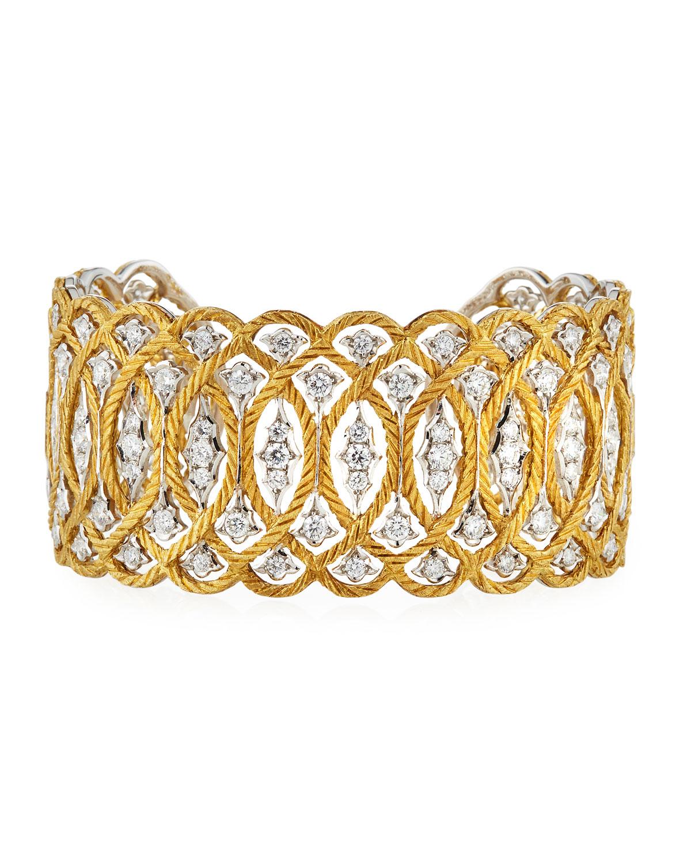 Etoilee 18K Cuff Bracelet with Diamonds