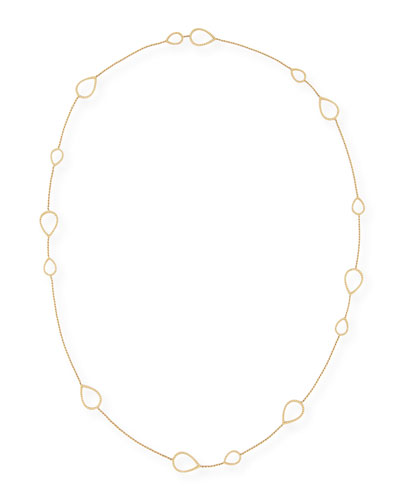 Serpent Boheme 18K Gold Necklace, 40