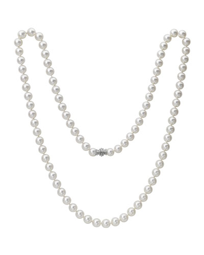 Single-Strand Akoya Pearl Necklace, 33