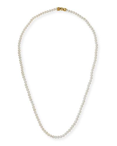 Serena Long Pearl Necklace, 35