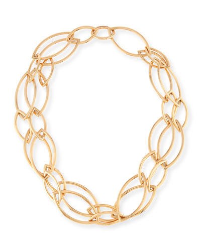18K Rose Gold Pop Chain Necklace