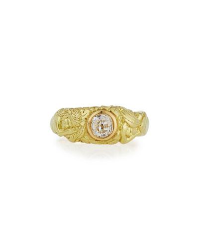 GARDEN OF EDEN DIAMOND RING