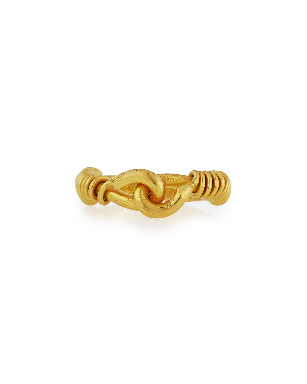 Interlocking 22K Gold Ring