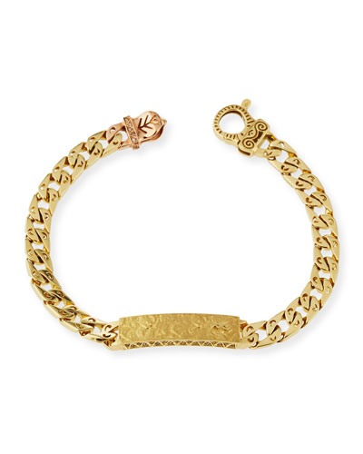 Arero Mura 18K Gold Chain Bracelet with Diamonds