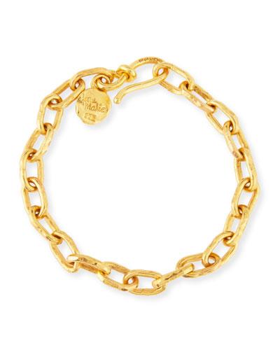 Cadene 30 22K Yellow Gold Link Bracelet
