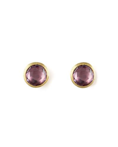Jaipur Amethyst Stud Earrings