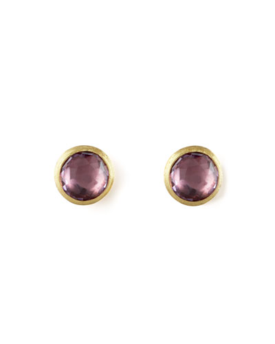Jaipur Amethyst Stud Earrings