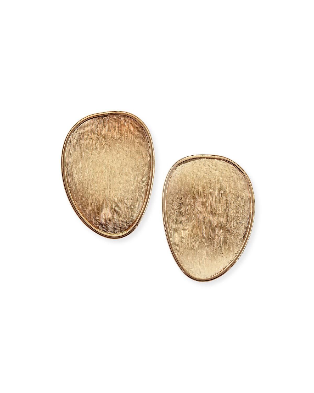 Lunaria 18k Gold Stud Earrings