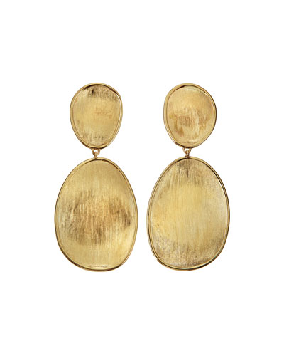 Lunaria 18k Gold Double-Drop Earrings