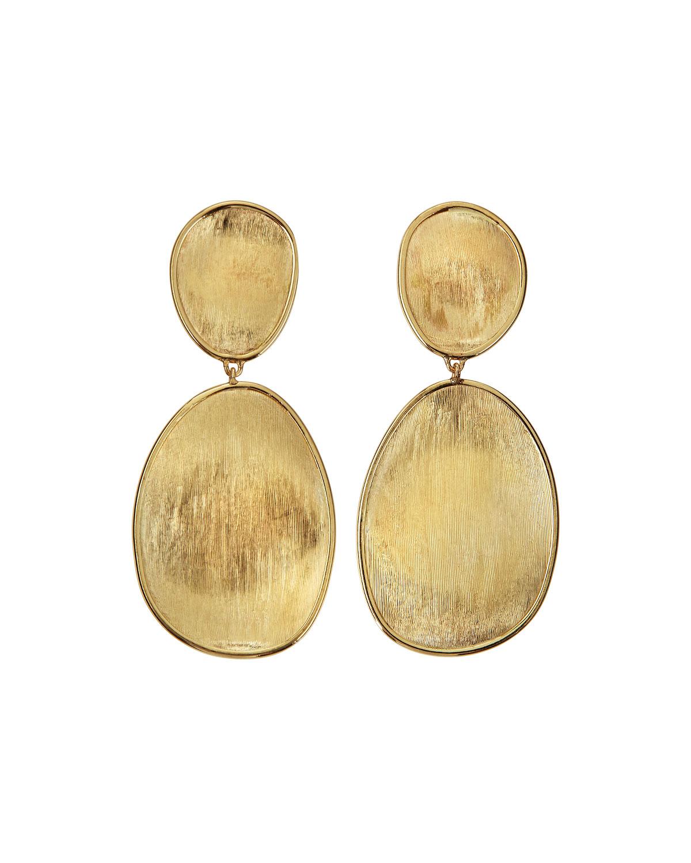 Lunaria 18k Gold Double-Drop Earrings